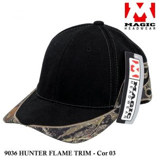 Boné Magic Headwear Hunter Flame 9036 - Cor 03