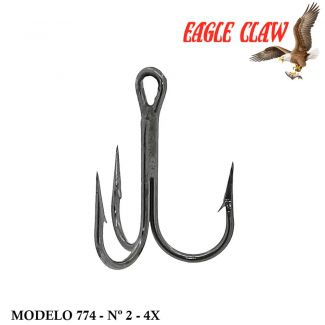 Garateia Eagle Claw Lazer Sharp L774 - Nº 2 - 4x