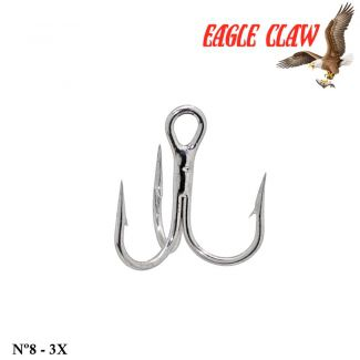 Garateia Eagle Claw Lazer Sharp - Nº 8 - 3x
