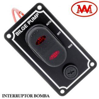 Interruptor Bomba De Porão Vertical Awa - 10299-v