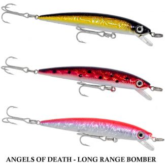Isca Artificial Bluewater Long Range Bomber | 8,0 cm - 6,0 gr
