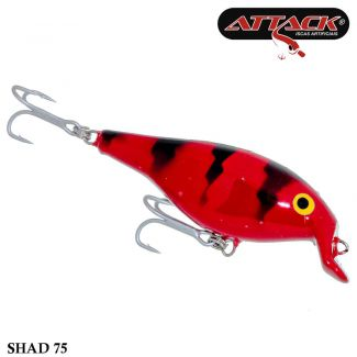 Isca Attack Shad 75 | 7,5cm - 11,6gr