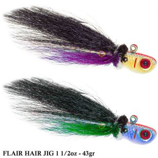 Isca Bomber Flair Hair Jig | 1 1/2oz - 43,0gr