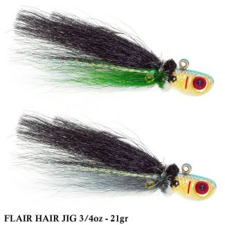 Isca Bomber Jig Flair Hair | 3/4oz - 21,0gr