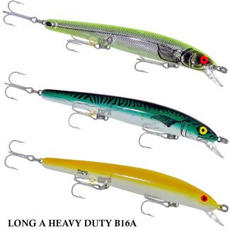 Isca Bomber Long A Heavy Duty B16A | 16,0cm - 24,5gr
