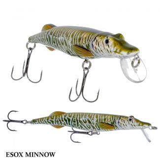 Isca Cabelas Reallimage HDS Esox Minnow | 12,0cm - 14,0gr