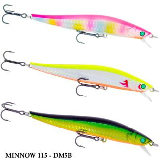 Isca King Hunter Minnow 115 - DM5B | 11,5cm - 16gr