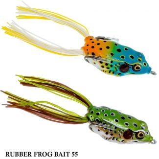 Isca Normandy Rubber Frog Bait 55 | 5,5cm - 12,0gr