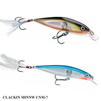 Isca Rapala Clackin Minnow CNM-7 | 7,0 cm - 7,0 gr