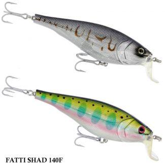 Isca River2Sea Fatti Shad 140F | 14,0 cm - 70,0 gr