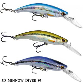 Isca Savage Gear 3D Minnow Diver 95 | 9,5 cm - 19,0 gr