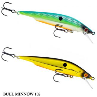 Isca Sebile Action First Bull Minnow | 10,2 cm - 14,0 gr