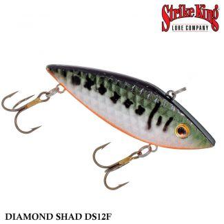 Isca Strike King Rattilin Diamond Shad DS12F   7,5 cm - 14,0 gr