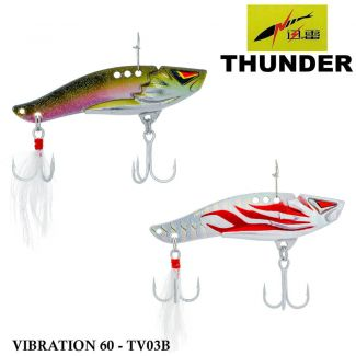 Isca Thunder Vibration 60 - Tv03b | 6,0 cm - 15,0 gr
