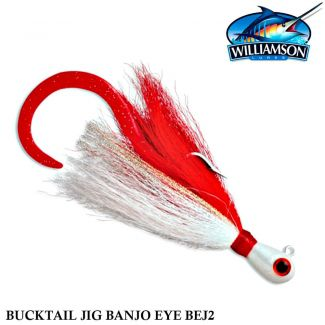 Isca Williamson Bucktail Banjo Eye BEJ2 | 2 oz - 56,0 gr
