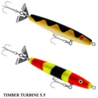 Isca Yakima Bait Poes Timber Turbine 5.5 | 14,0 cm - 37,0 gr