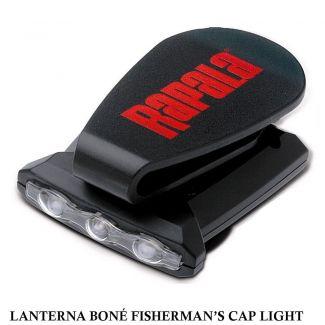 Lanterna para Boné e Chapéu Rapala Fisherman's Cap Light