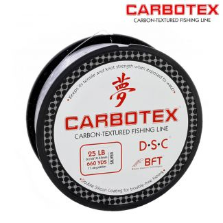 Linha Fluorocarbono Carbotex Carbon  25LB - 0,45mm - 604mts
