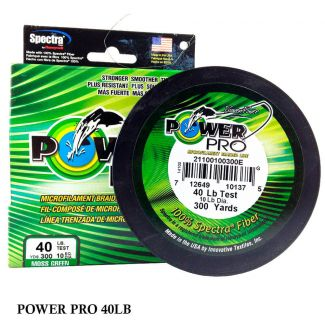 Linha Multifilamento Power Pro 40lb 0,32mm 300yds