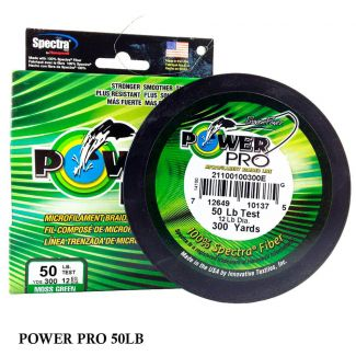 Linha Multifilamento Power Pro 50lb 0,36mm 300yds