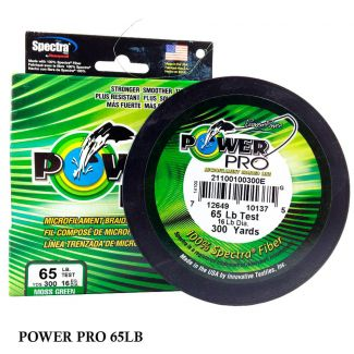 Linha Multifilamento Power Pro 65LB 0,41mm 300yds