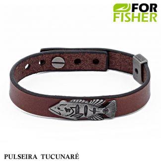 Pulseira For Fisher Pingente Tucunaré