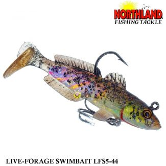 Shad Northland Maxi Live-Forage LFS5-44 | 8,0 cm - 10,5 gr
