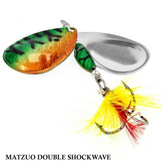 Spinner Matzuo America Double Shockwave 11MSD - Firetiger