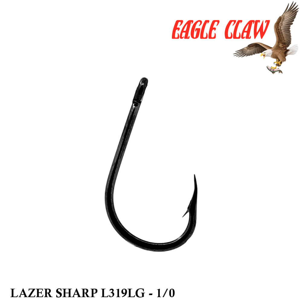 Anzol Eagle Claw Lazer Sharp L319LG 1/0