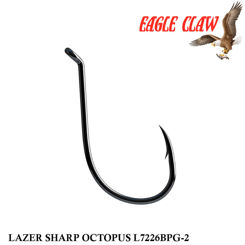 Anzol Eagle Claw Lazer Sharp Octopus L7226BPG-2 nº 2