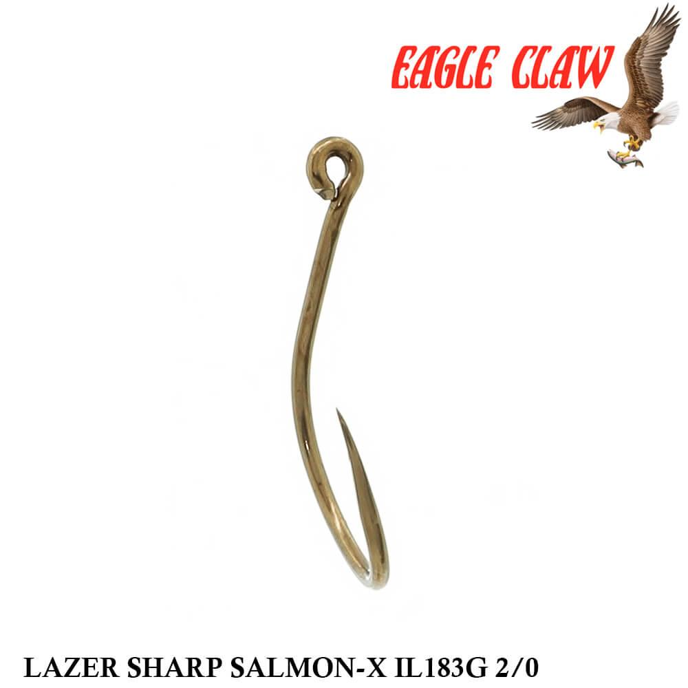 Anzol Eagle Claw Lazer Sharp Salmon-X IL183G 2/0