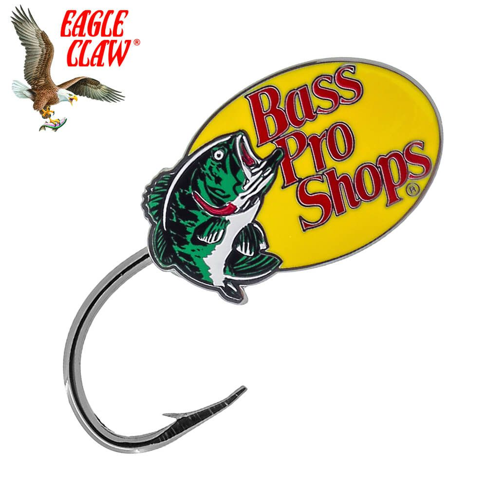 Anzol Eagle Claw Para Boné Hat Hook Tie Clasp Bass Pro Shop
