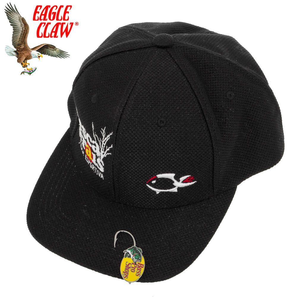 Anzol Eagle Claw Para Boné Hat Hook Tie Clasp Bass Pro Shop
