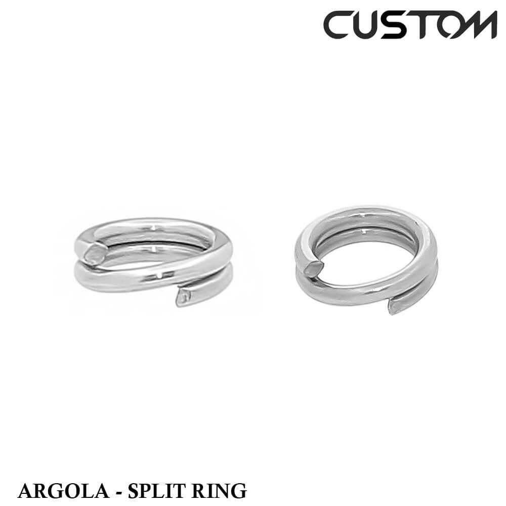 Argolas Split Ring Custom Reforçado Iscas Artificiais