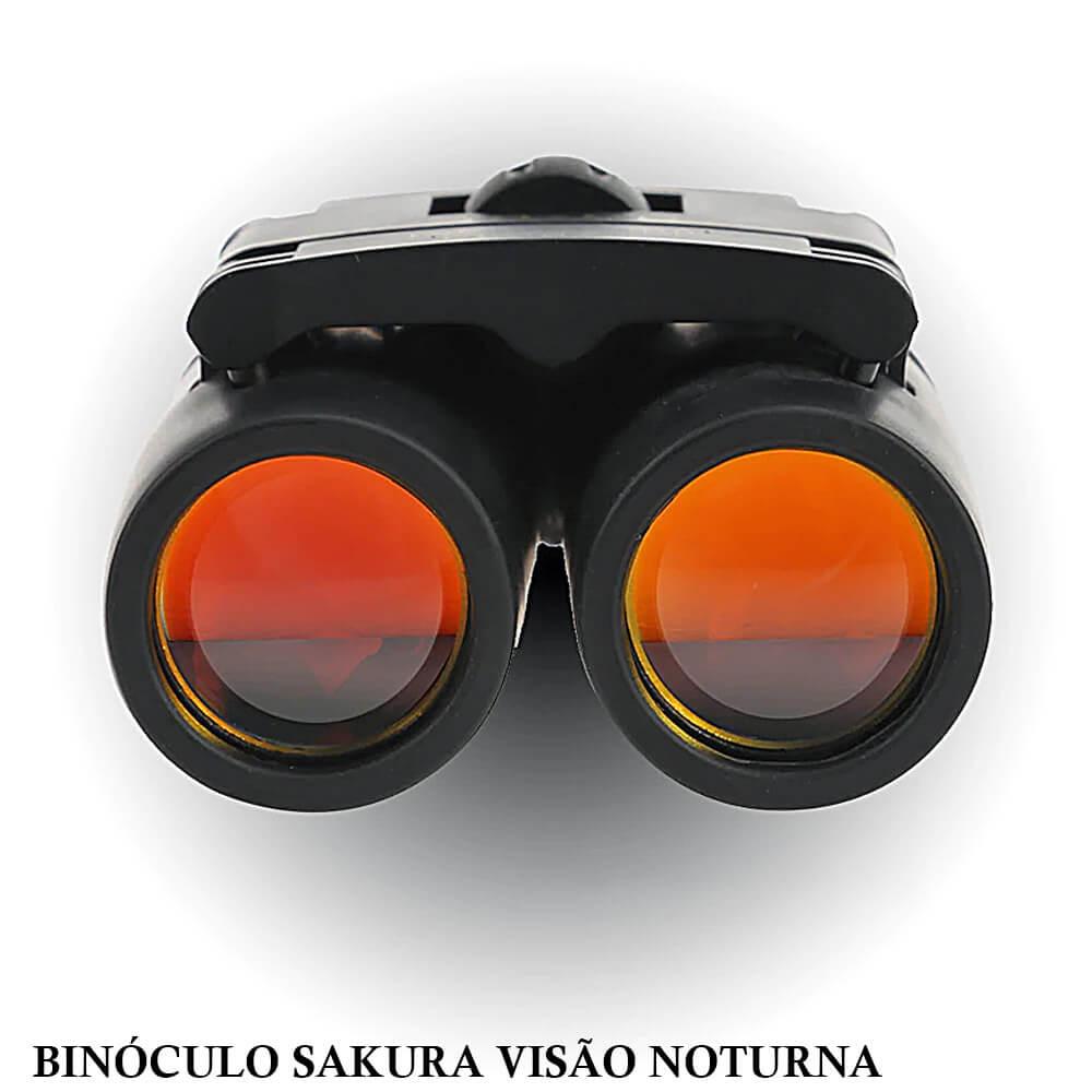 Binóculo Sakura 30x60 Visão Noturna Telescópio Zoom Óptico 126 m - 1000 m
