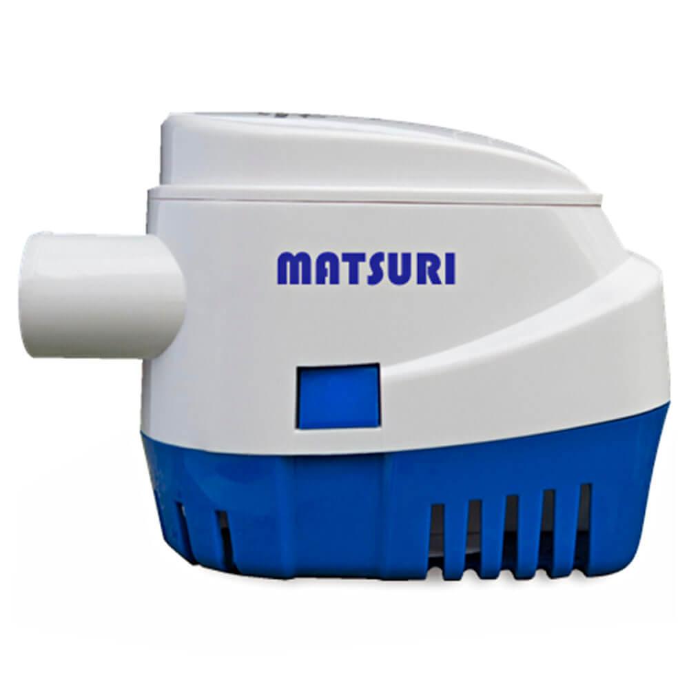 Bomba de Porão Matsuri 1100 GPH Automática 4163 LPH 12V