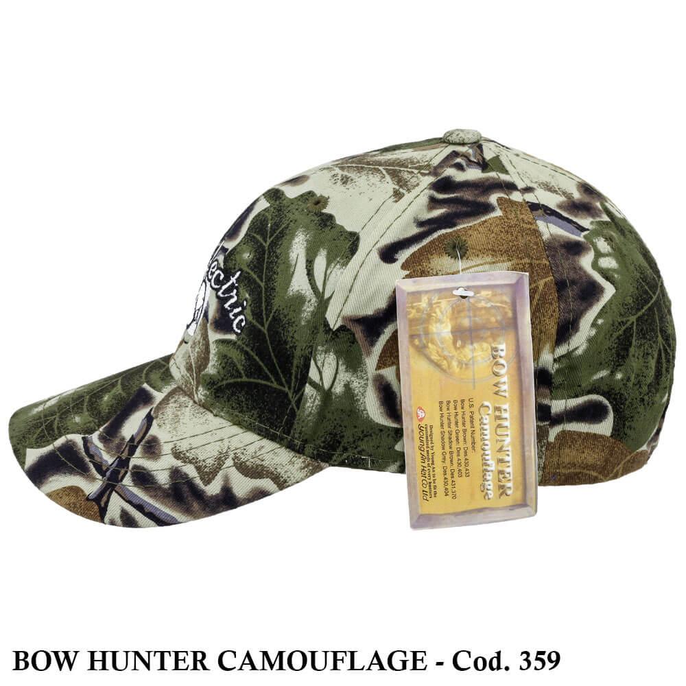 Boné Americano Bow Hunter Camouflage - Cod. 359