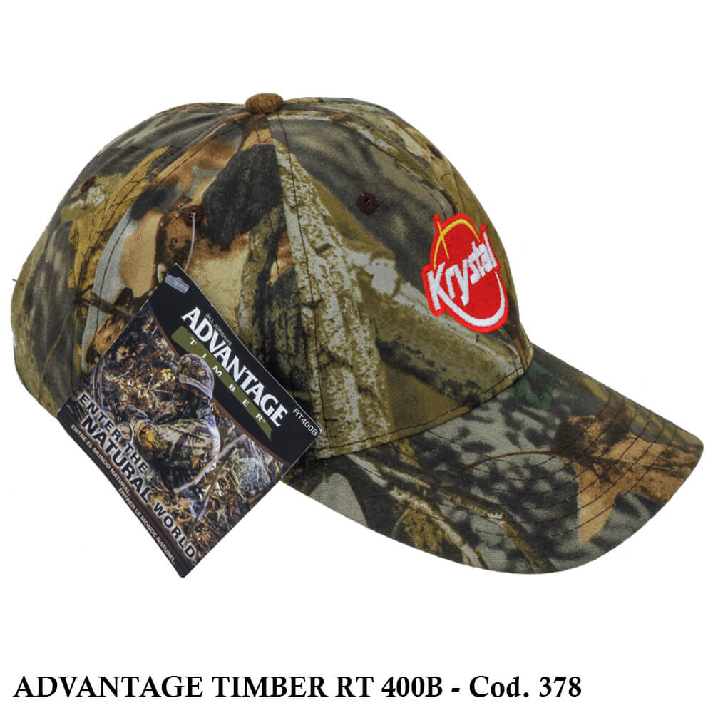 Boné Americano Camo Hunting Advantage Timber - Cod. 378