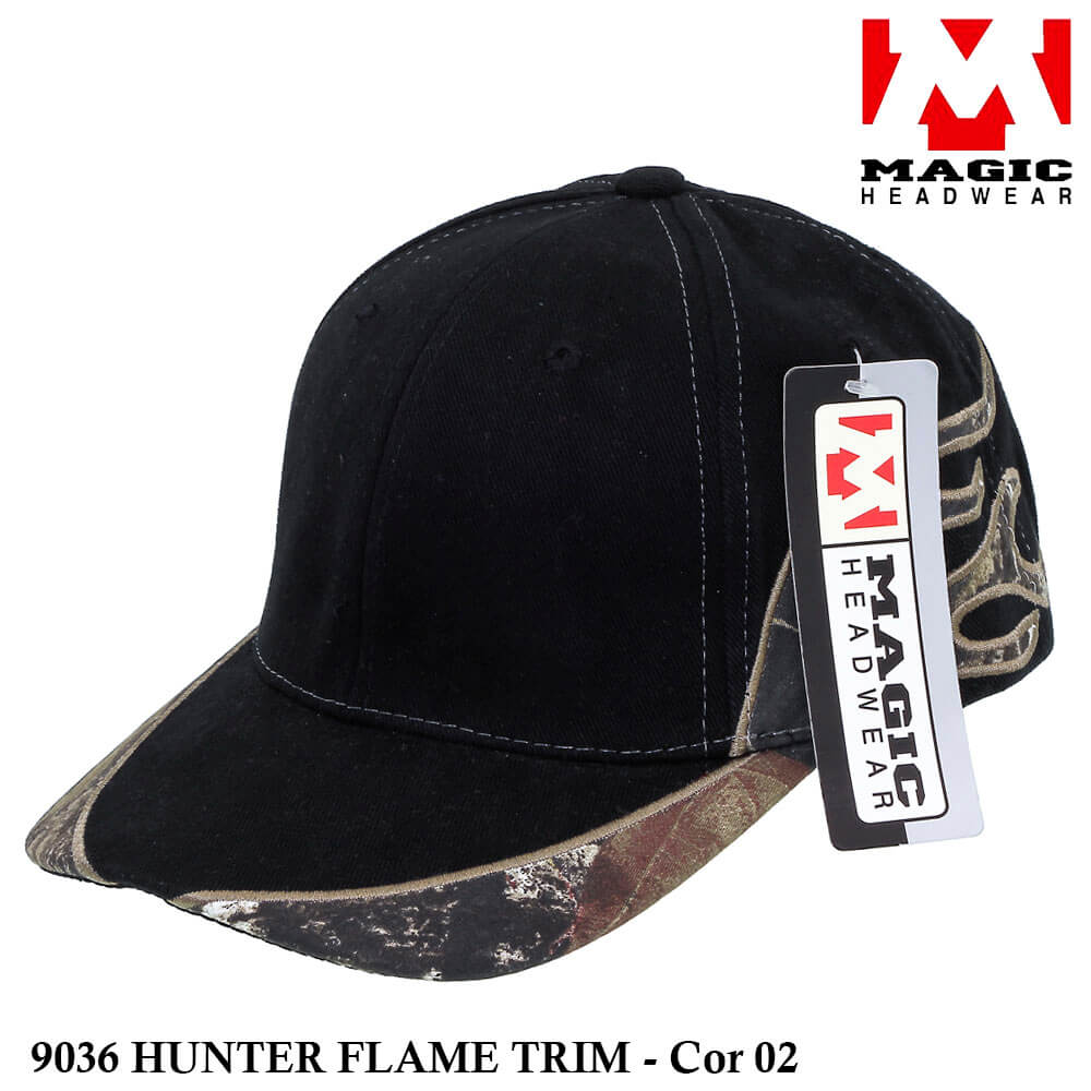 Boné Magic Headwear Hunter Flame 9036 - Cor 02