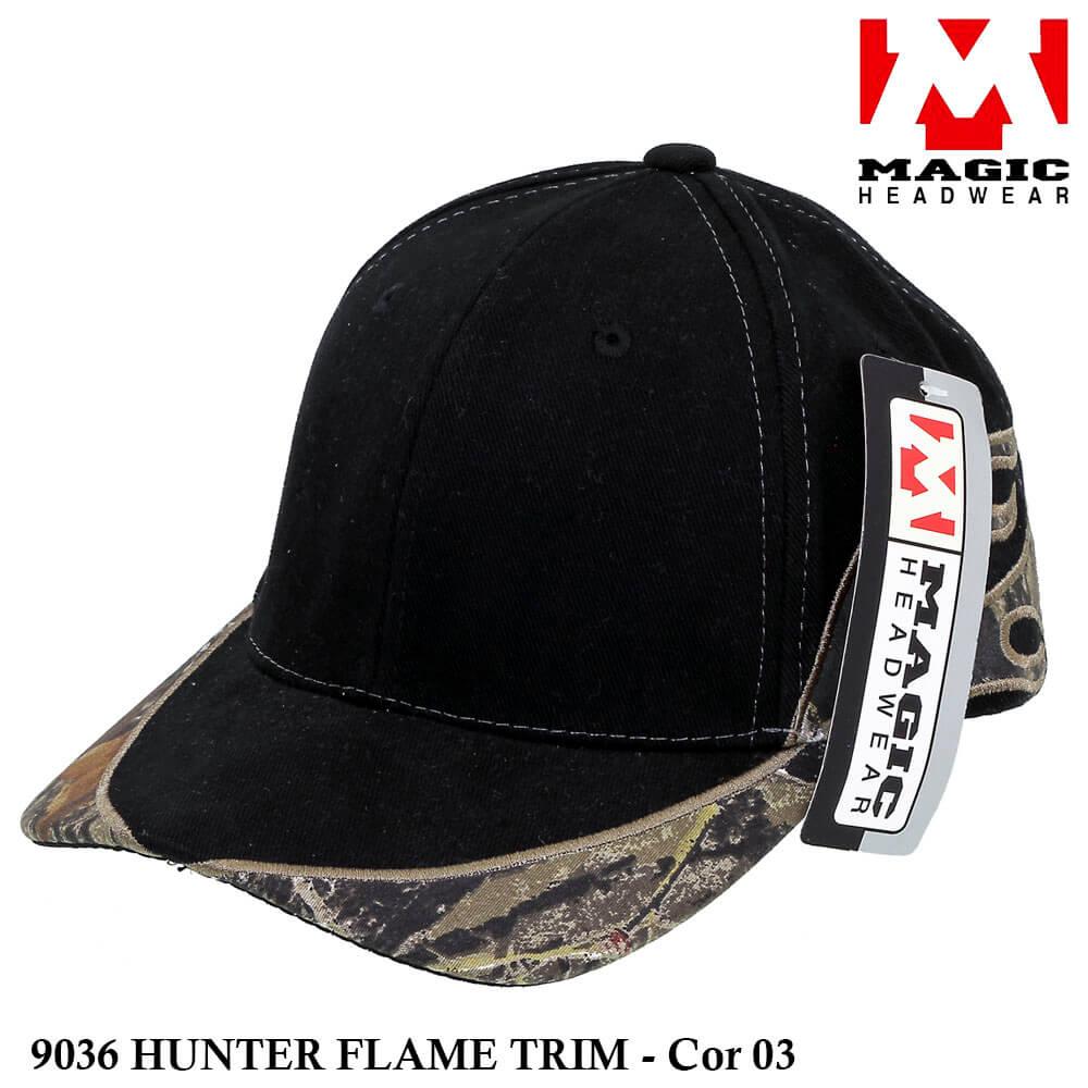 Boné Magic Headwear Hunter Flame 9036 - Cor 03