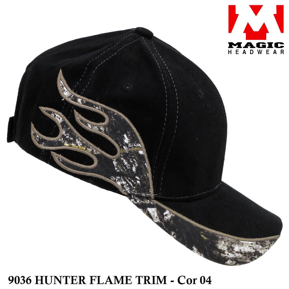 Boné Magic Headwear Hunter Flame 9036 - Cor 04