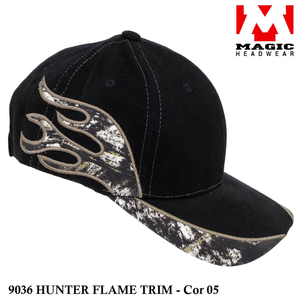 Boné Magic Headwear Hunter Flame 9036 - Cor 05