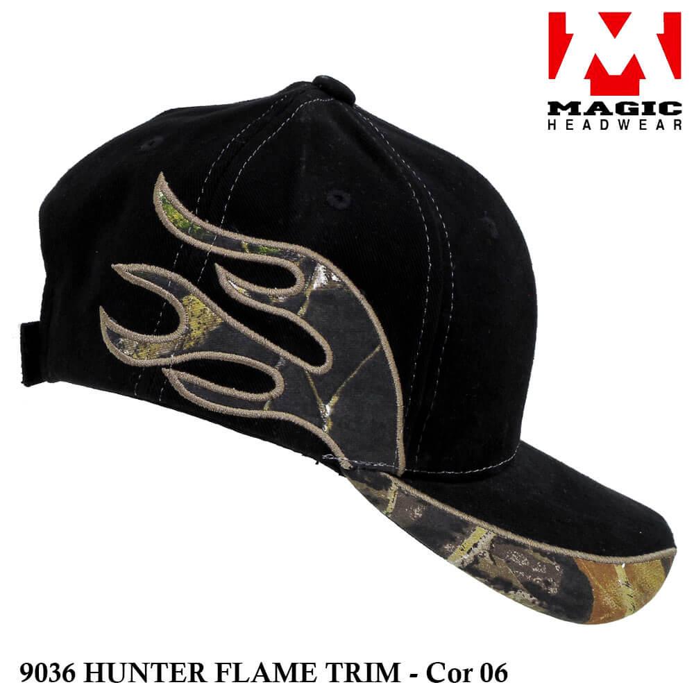 Boné Magic Headwear Hunter Flame 9036 - Cor 06