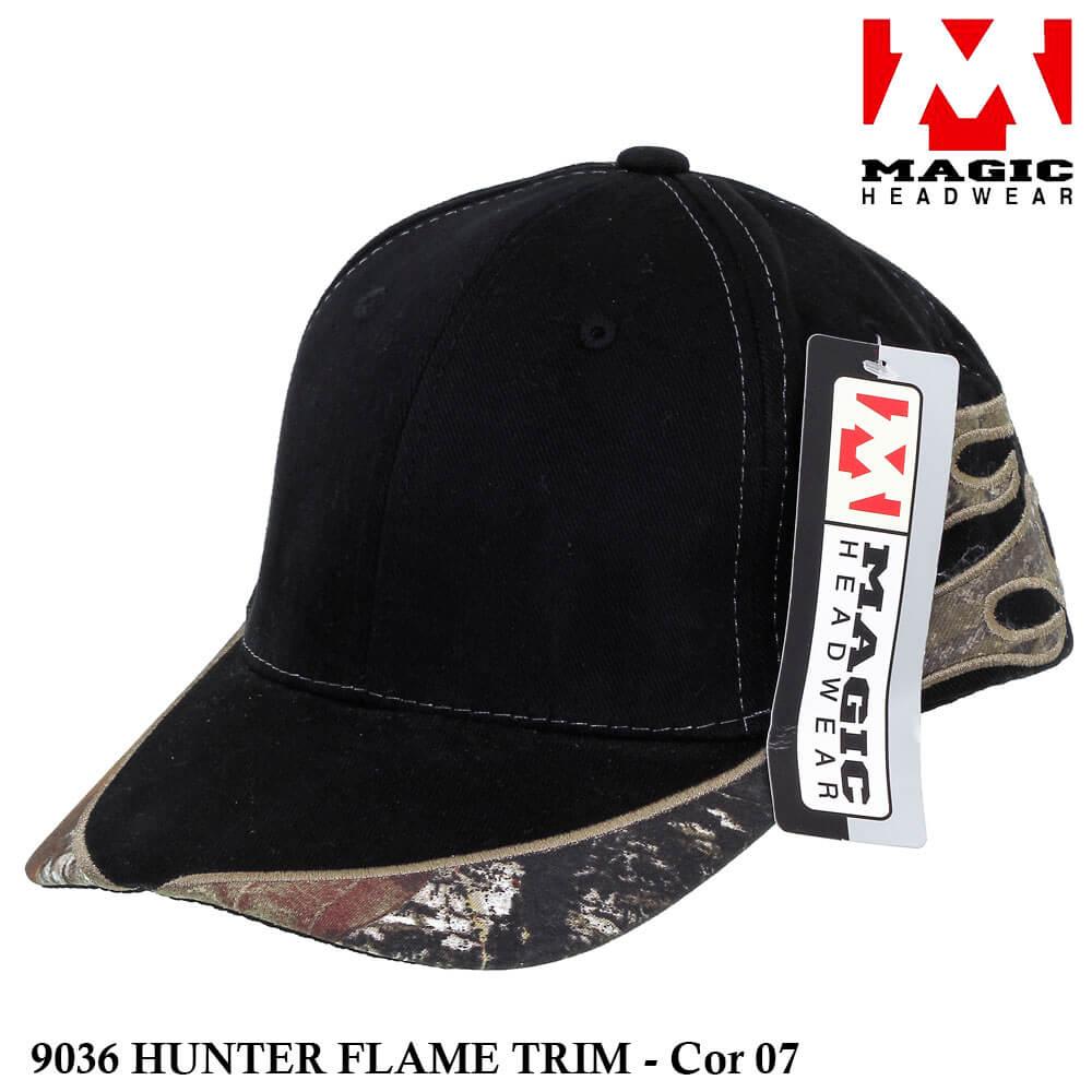 Boné Magic Headwear Hunter Flame 9036 - Cor 07