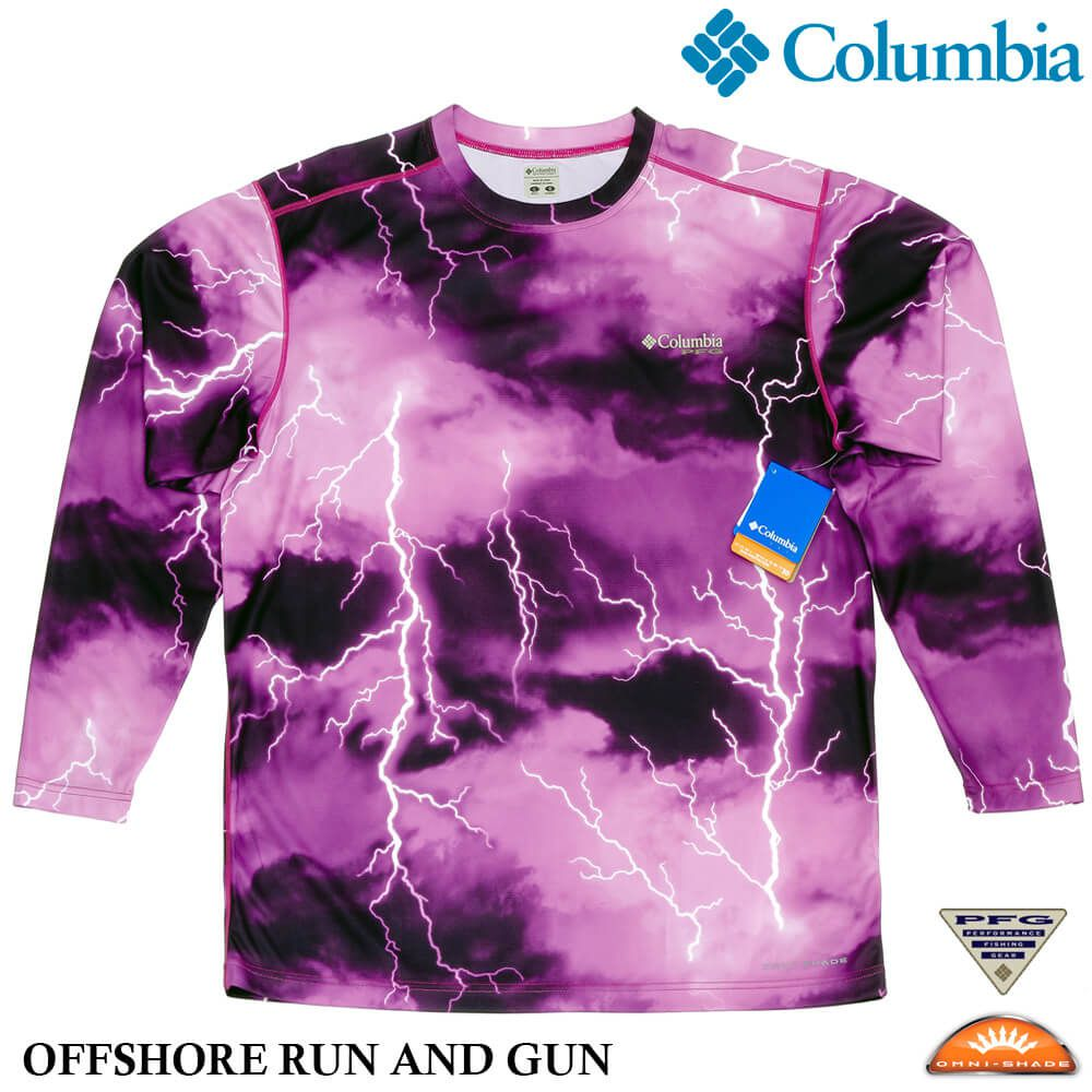 Camisa Columbia PFG Offshore Run And Gun - FPU30