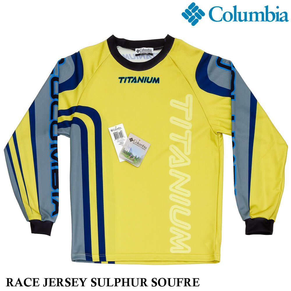 Camisa Columbia Titanium Race Jersey - Manga Longa