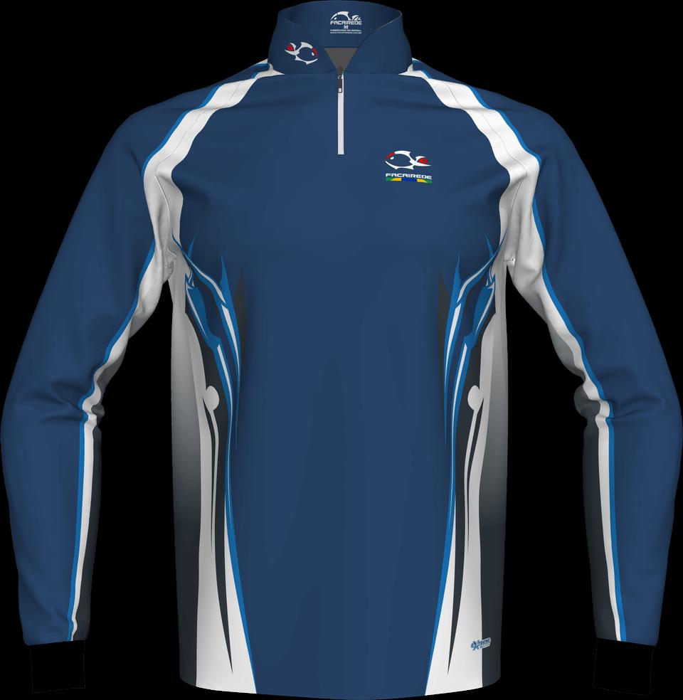 Camisa Manga Longa Faca Na Rede Modelo Evo 02 - Tamanh. pp