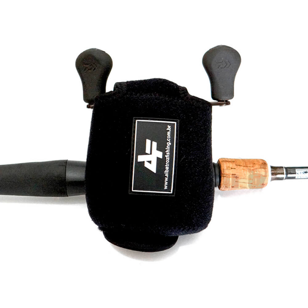 Capa Protetora Carretilha Perfil Baixo Albatroz Fishing RBC8-S