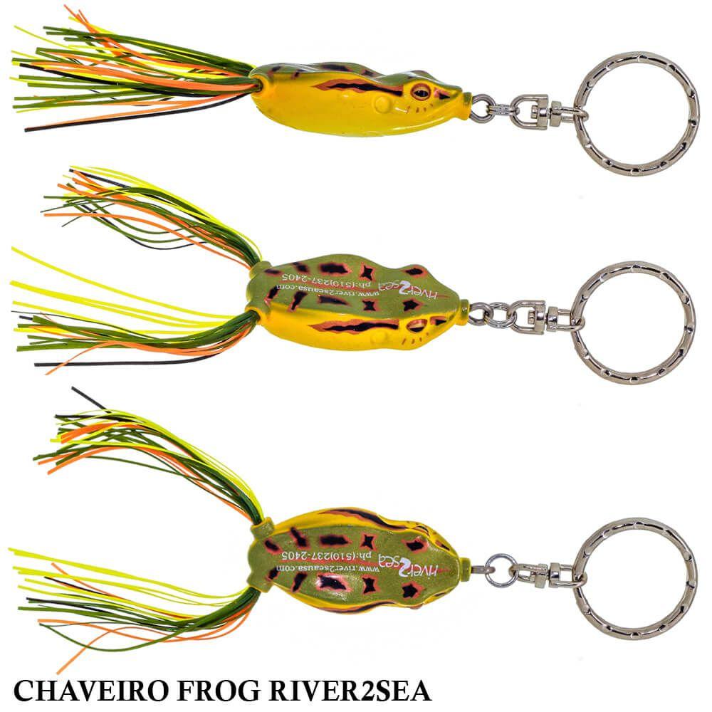 Chaveiro Isca Artificial Frog River2Sea