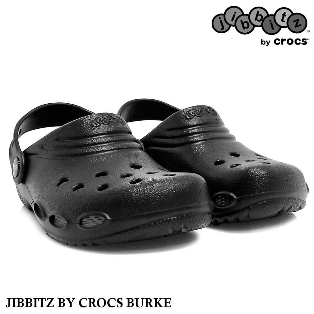 Crocs Burke Jibbitz Preto Unissex - Tamanho 39/40
